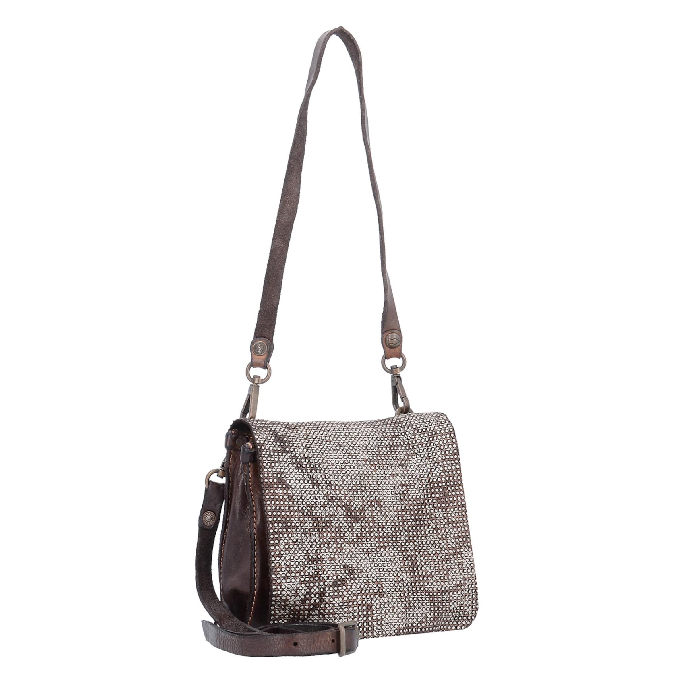 Campomaggi Bauletto Mini Bag Umhängetasche Leder 17 cm Billig Verkauf Hochwertiger v3LHDW