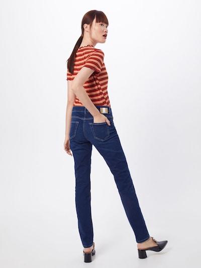 MAC Džinsi pieejami zils džinss: Aizmugures skats