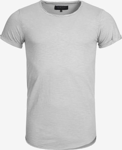 INDICODE JEANS Shirt 'Willbur' in de kleur Lichtgrijs, Productweergave