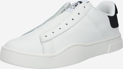 DIESEL Sneakers laag 'CLEVER' in de kleur Zwart / Wit, Productweergave