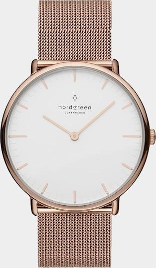Nordgreen Montre à affichage analogique en or rose, Vue avec produit