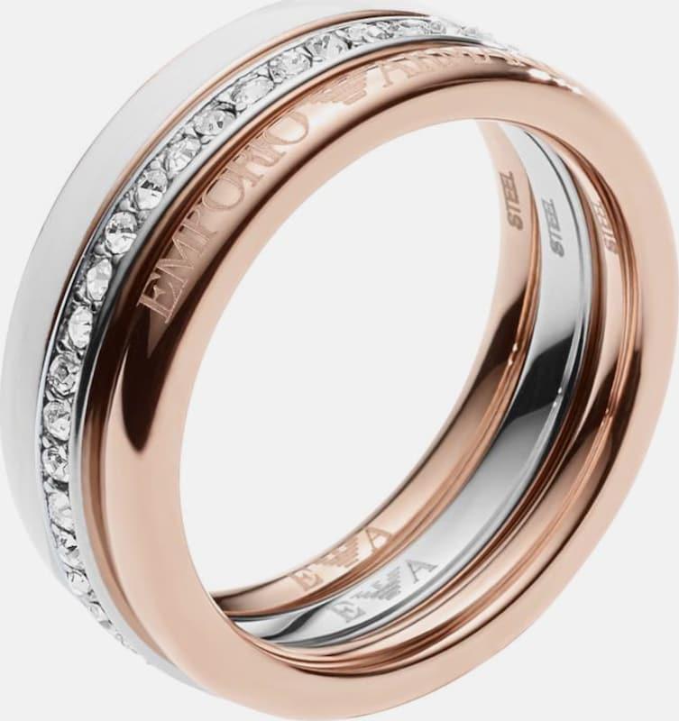 Emporio Armani Ring-Set »EGS2363040« (Set, 3 tlg.)