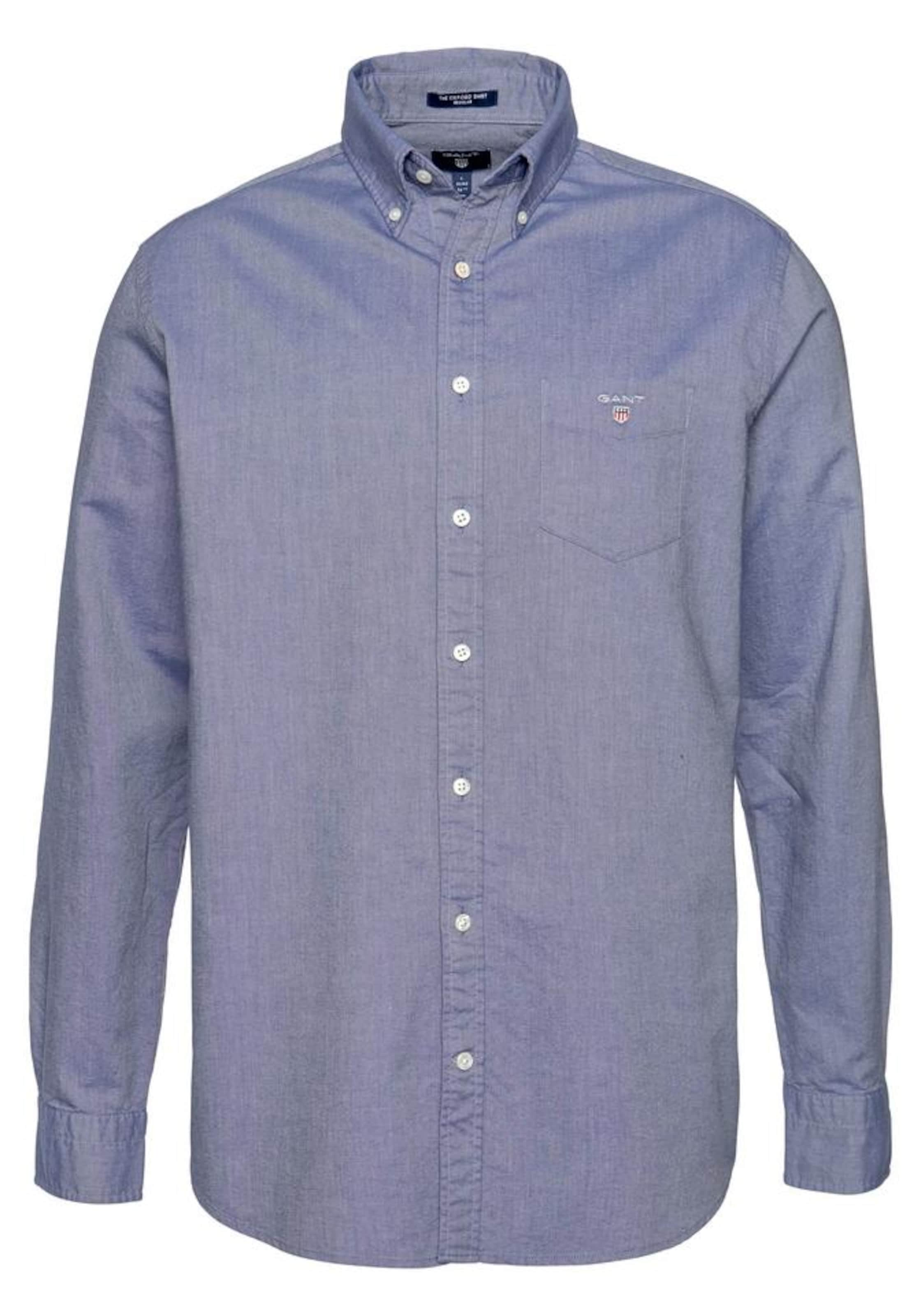 Gant In Shirt 'the Taubenblau Hemd Bd' Oxford fyY6gImb7v