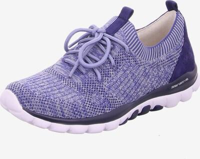 GABOR Sneaker in beige / blau, Produktansicht