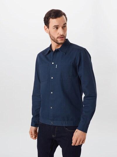 Only & Sons Overhemd 'ONSCRIS' in de kleur Donkerblauw, Modelweergave