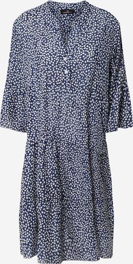 Zwillingsherz Kleid 'Eva' in marine / weiß, Produktansicht