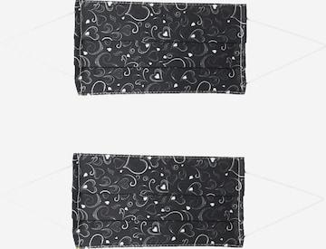 Masque en tissu '2er Pack Waves' Zwillingsherz en noir