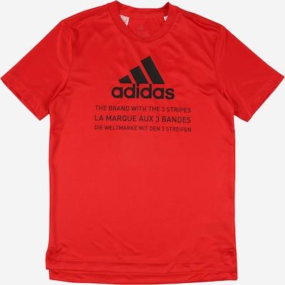 ADIDAS PERFORMANCE T-Shirt fonctionnel 'JB TR TEE V1' en rouge, Vue avec produit