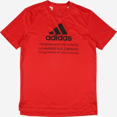 ADIDAS PERFORMANCE Sport-Shirt 'JB TR TEE V1' in rot, Produktansicht