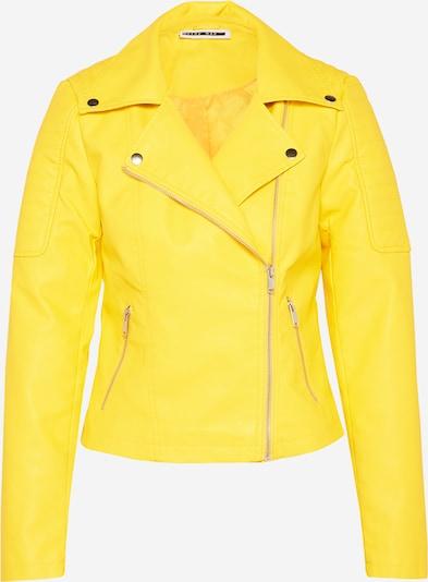 Noisy may Bikerjacke 'REBEL' in gelb, Produktansicht