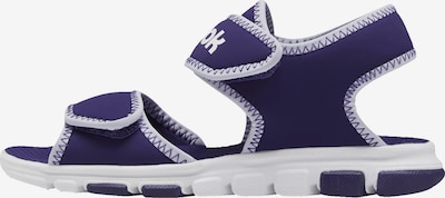 REEBOK Sandale in dunkellila / weiß, Produktansicht