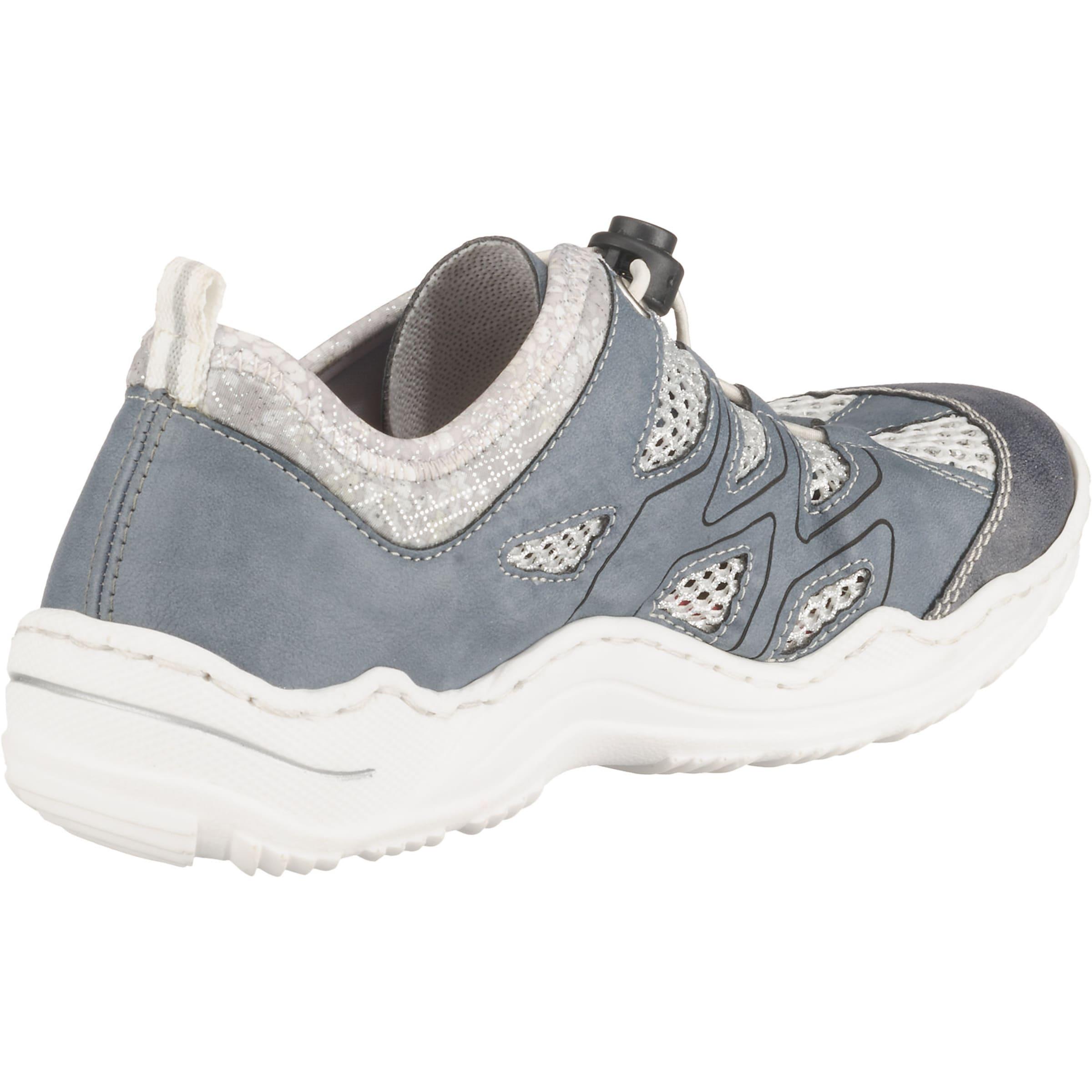 Weiß RauchblauSilber Sneaker Sneaker In Rieker Rieker stdQrhC
