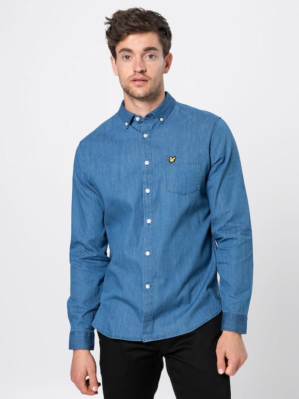 Chemise Scott En Lyleamp; Denim Bleu Shirt' 'denim 0wOP8kn