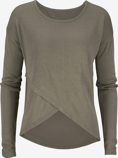 LASCANA Pullover in khaki, Produktansicht