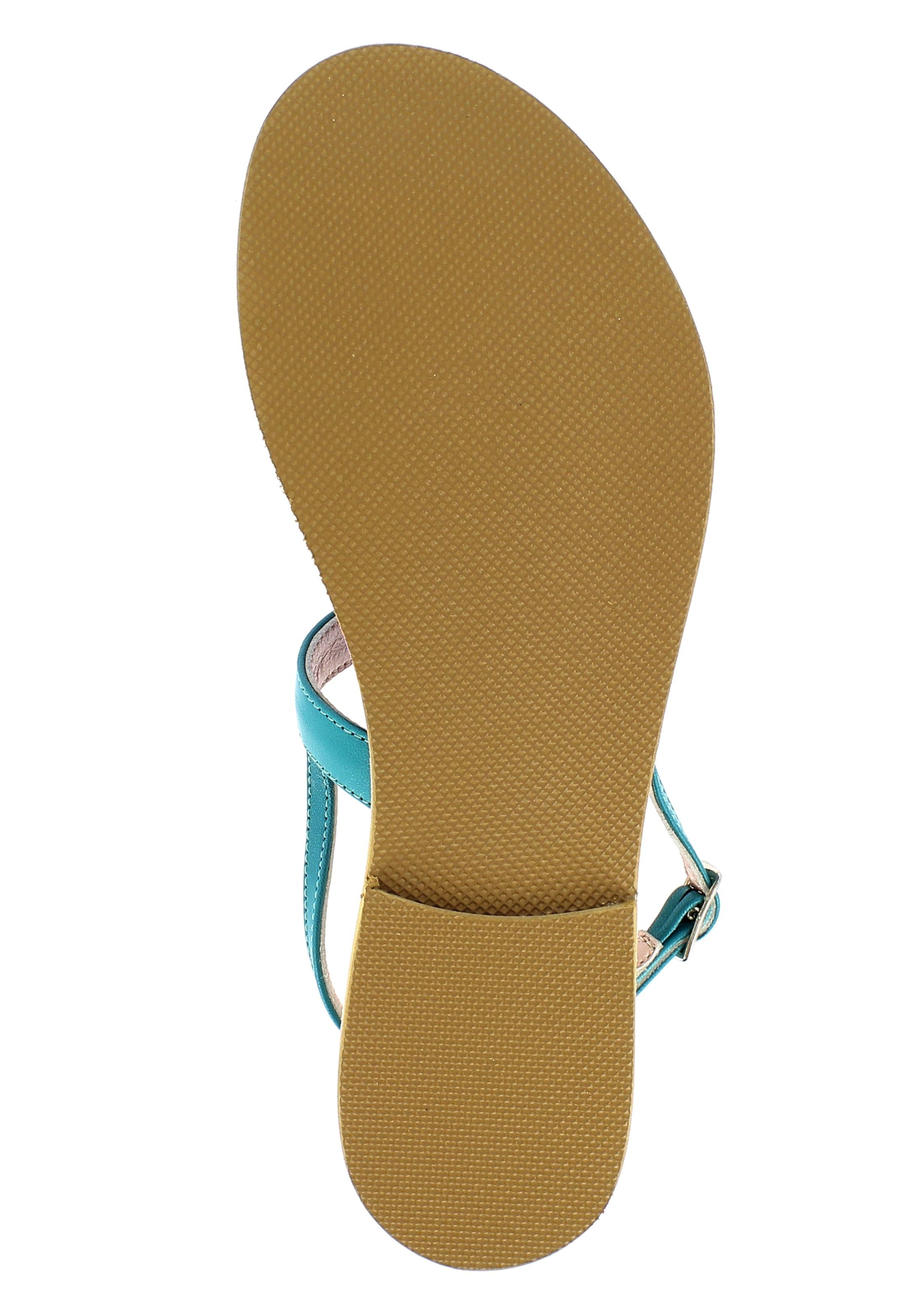 Damen Evita Evita Damen In Sandale Petrol 34qARcjL5S
