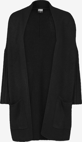 Urban Classics Oversize strikkejakke i svart