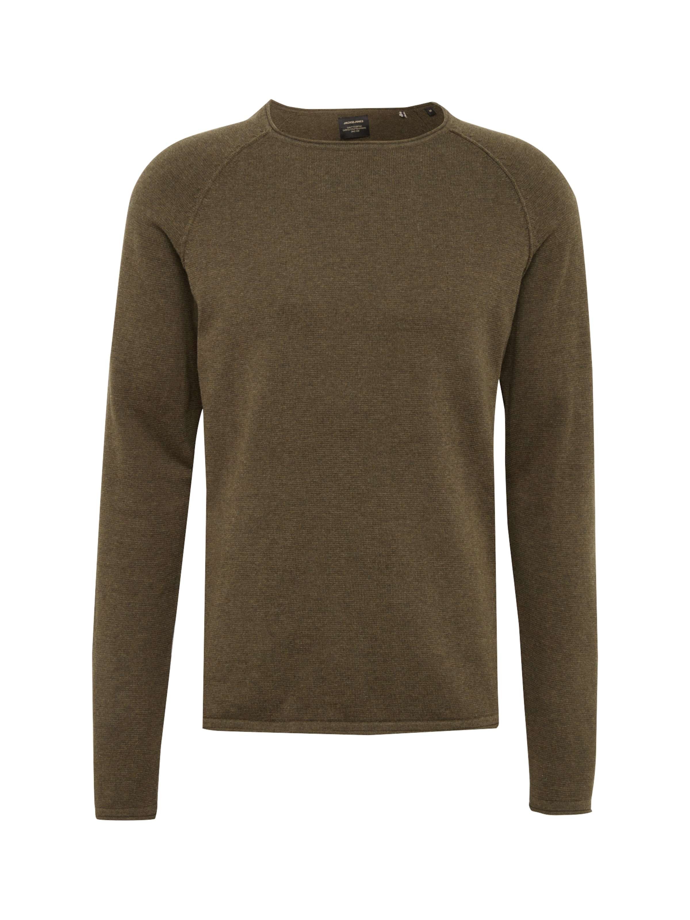Crew 'jjeunion Pullover Jones Khaki Neck' In Jackamp; Knit 4q5ARjL3