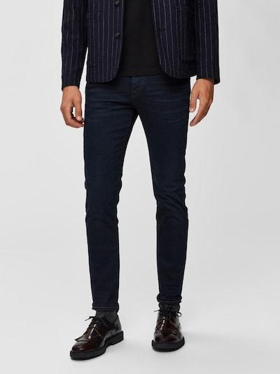 SELECTED HOMME Jeans in de kleur Nachtblauw: Vooraanzicht