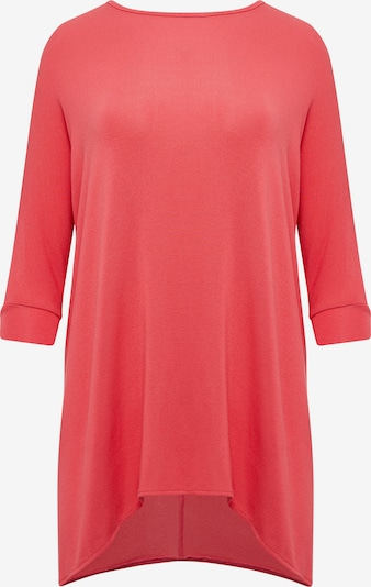 TALENCE Oversized shirt in de kleur Zalm roze, Productweergave
