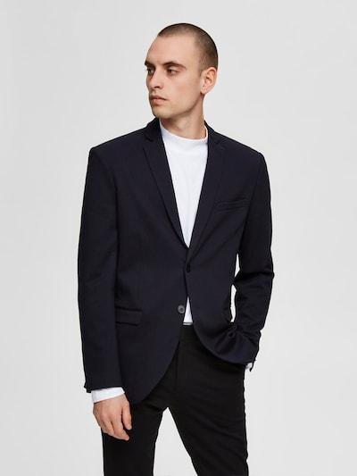 SELECTED HOMME Slim Fit Blazer in dunkelblau: Frontalansicht