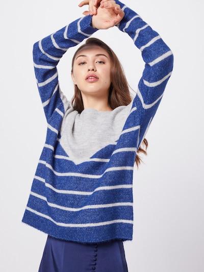 VERO MODA Sweter 'RANA' w kolorze niebieski / szarym: Widok z przodu