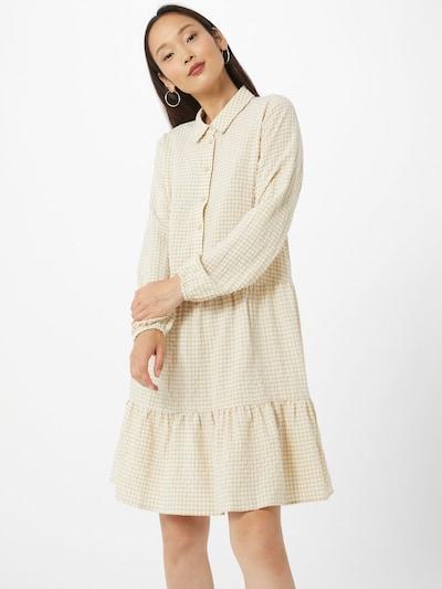 MOSS COPENHAGEN Kleid 'Lauralee Geia' in beige / weiß, Modelansicht