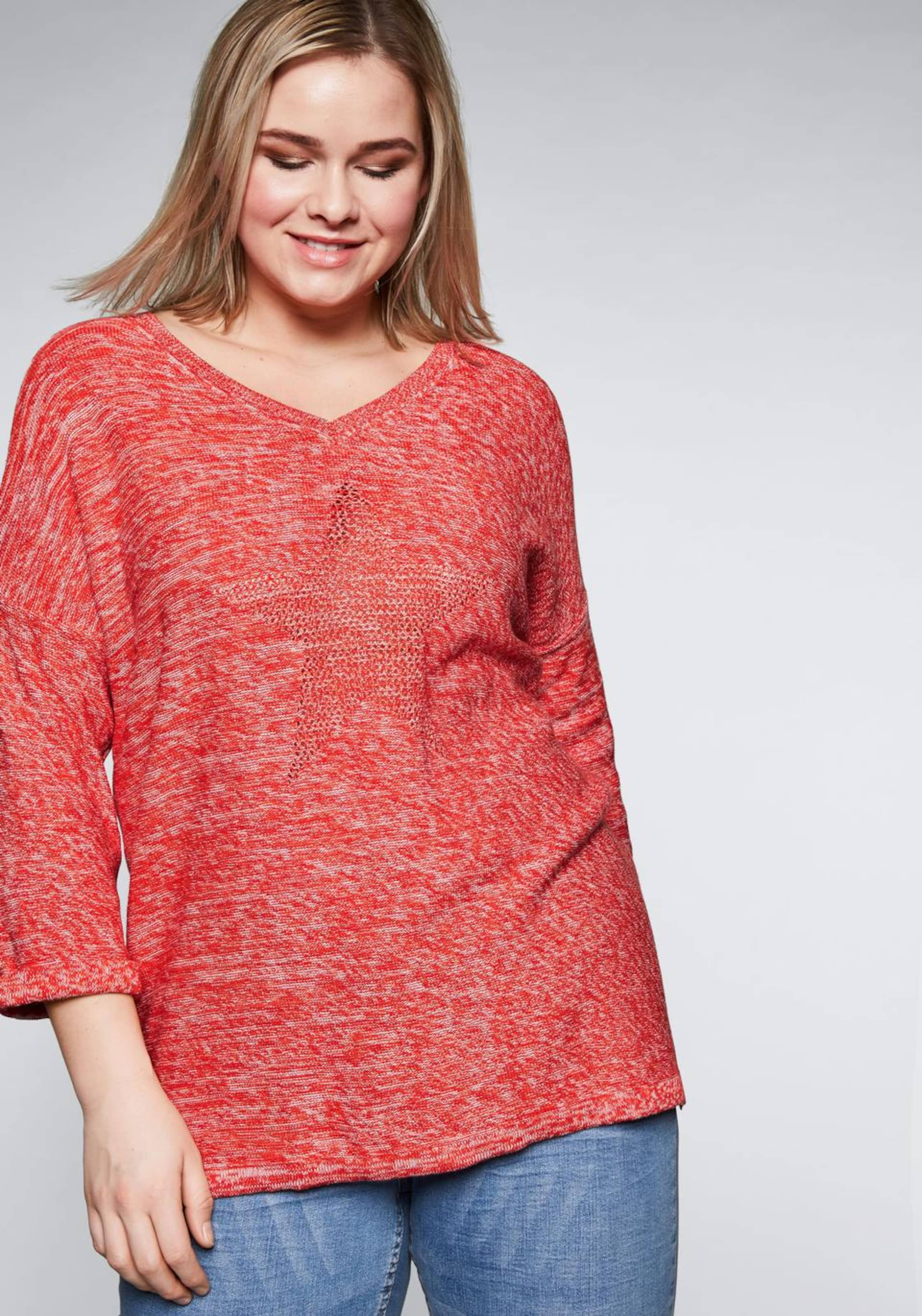 Sheego Sheego In Rot Pullover In Pullover 534LARj