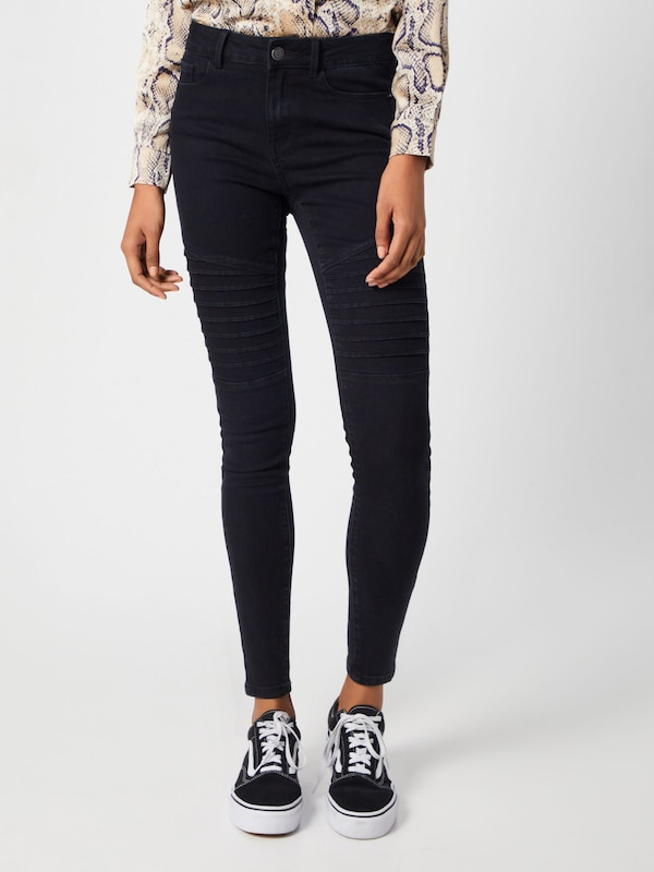 VERO MODA Jeans in black denim, Modelansicht