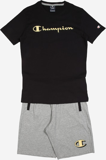 Champion Authentic Athletic Apparel Komplet | siva / črna barva, Prikaz izdelka