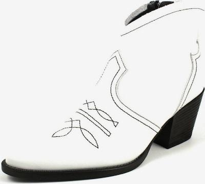 Paul Green Cowboylaarzen in de kleur Zwart / Wit, Productweergave