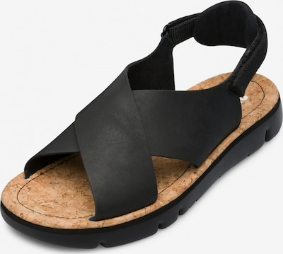 CAMPER Sandalen ' Oruga ' in schwarz, Produktansicht