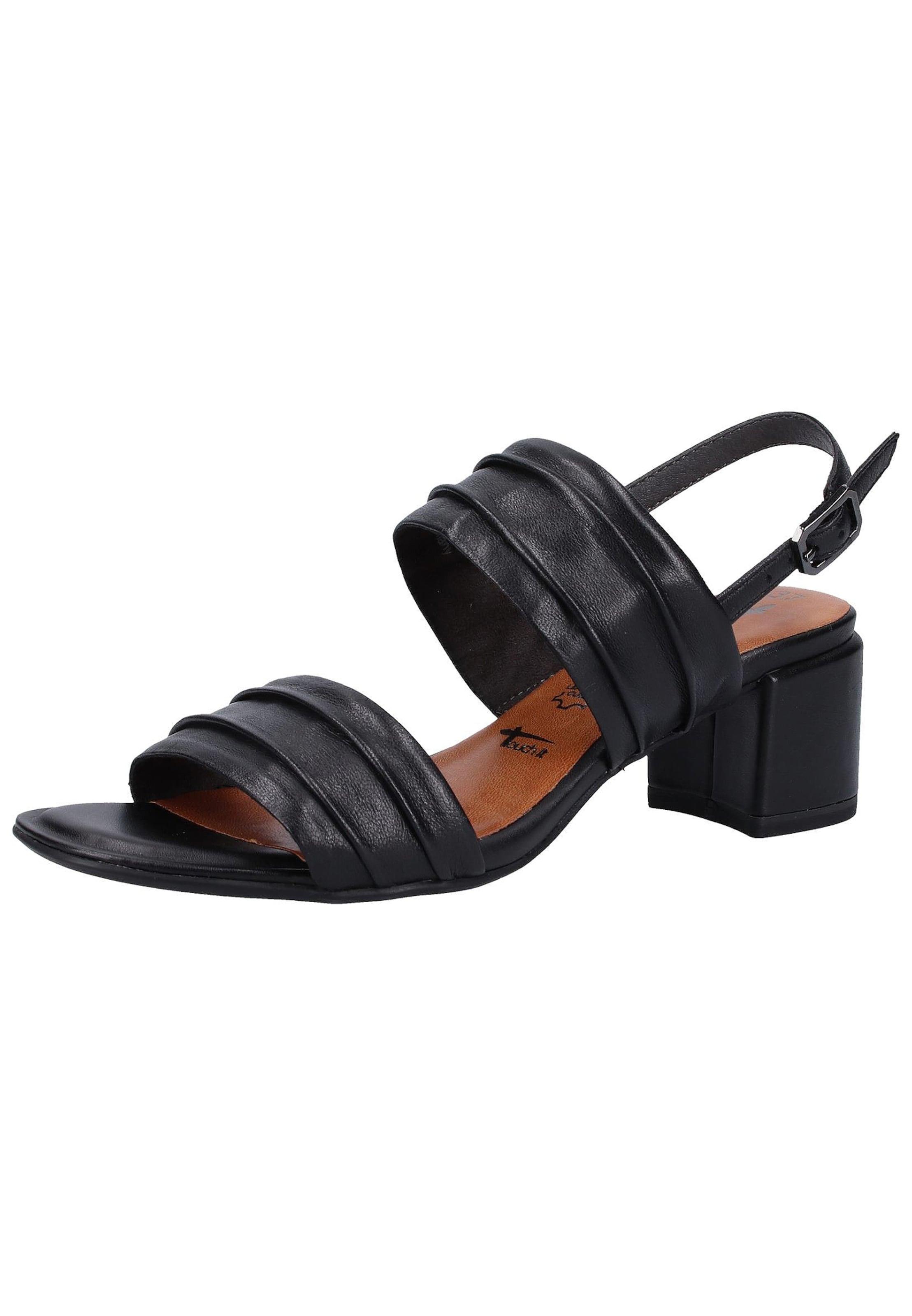 Sandales En Noir À Lanières Tamaris 8wkN0OXZnP