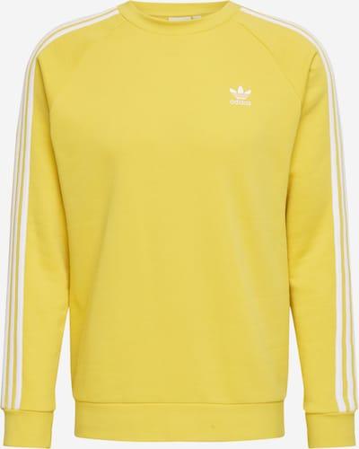 ADIDAS ORIGINALS Sweatshirt in de kleur Geel / Wit: Vooraanzicht