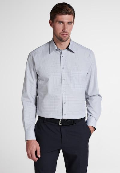 ETERNA Zakelijk overhemd in de kleur Blauw / Grijs / Lichtgrijs: Vooraanzicht