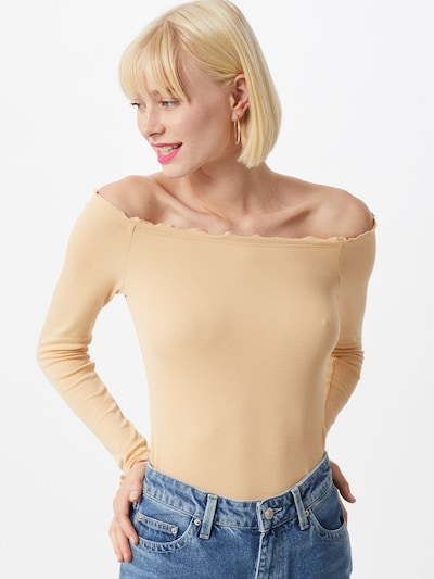 ABOUT YOU T-shirt 'Cami Body' en beige / jaune: Vue de face
