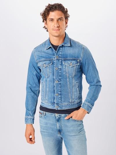 Pepe Jeans Prehodna jakna 'Pinner' | moder denim barva: Frontalni pogled