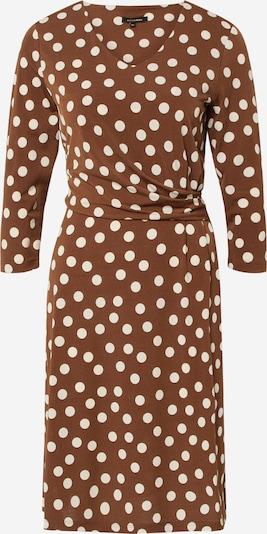 MORE & MORE Obleka | rjava / bela barva, Prikaz izdelka