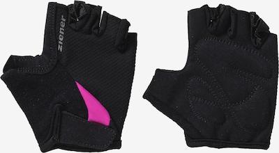 ZIENER Fahrradhandschuhe 'Crido' in pink / schwarz, Produktansicht