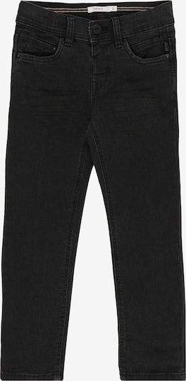 NAME IT Hose 'NMMRYAN DNMCARTUS 7303 PANT CAMP' in black denim, Produktansicht