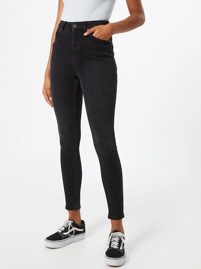 OBJECT Jeans 'HARPER' in black denim, Modelansicht