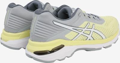 ASICS Laufschuhe 'GT-2000 6' in pastellgelb / grau / weiß: Rückansicht