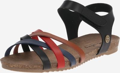 MUSTANG Sandale in mischfarben / schwarz, Produktansicht