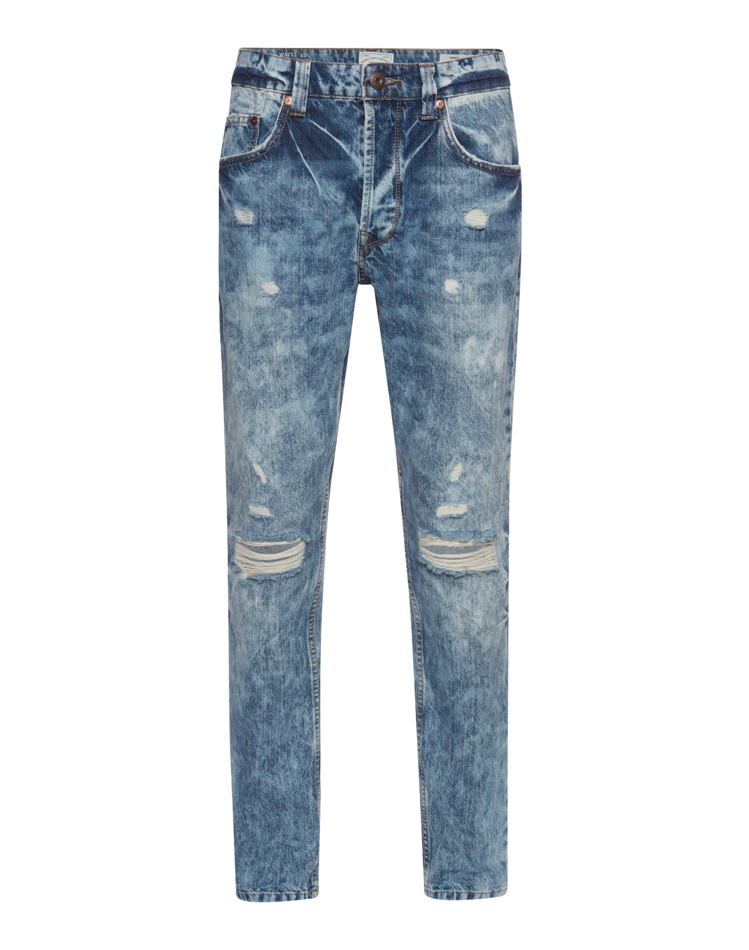 Only & Sons Slim Fit Jeans 'Carrot blue destroyed' Neueste w7whkm