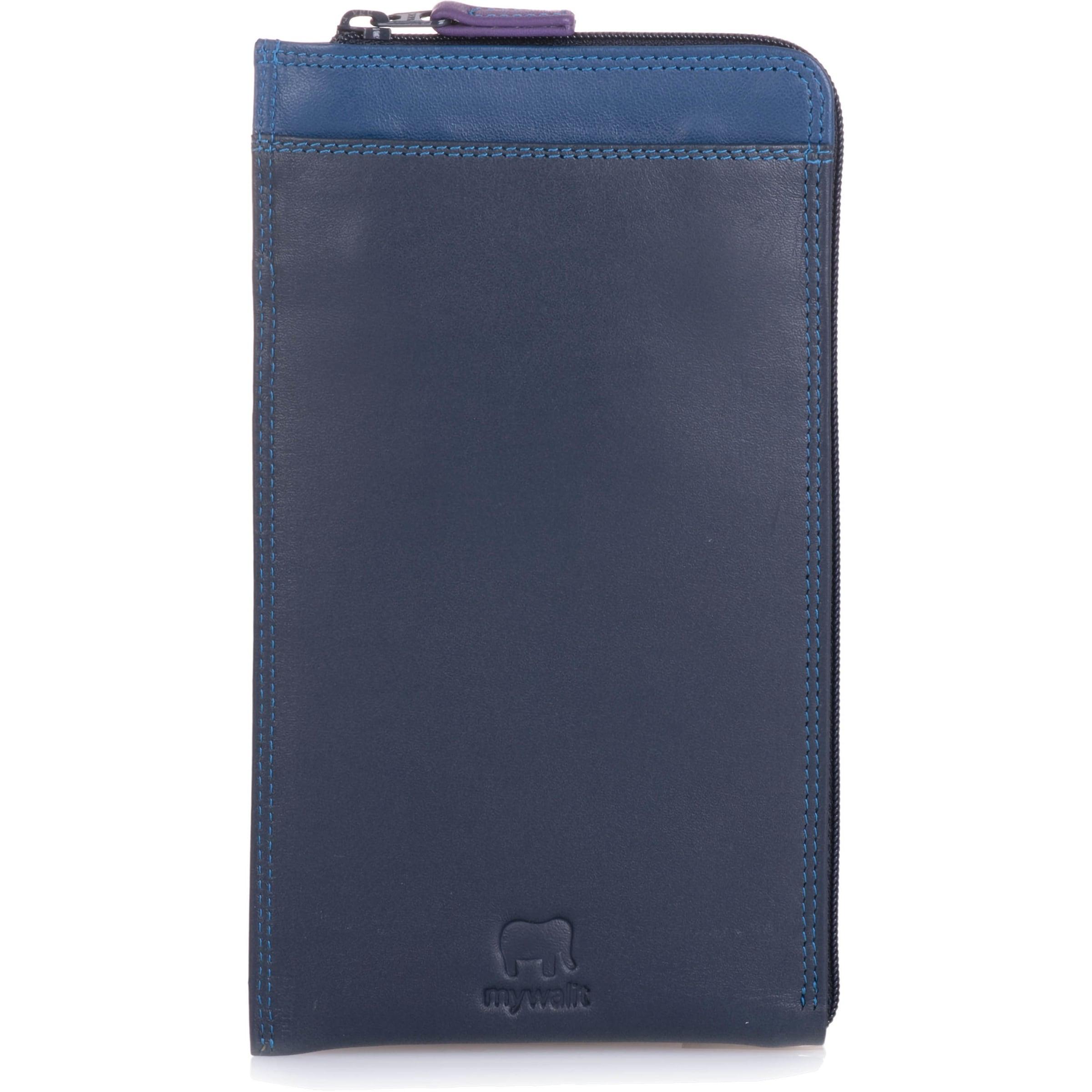 mywalit Geldbörse in blau / marine / violettblau / dunkellila