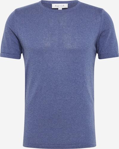 NU-IN Shirt in de kleur Blauw gemêleerd: Vooraanzicht