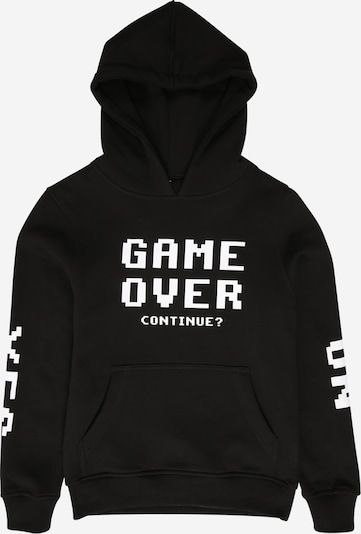 Mister Tee Sweatshirt 'Game Over' in schwarz / weiß, Produktansicht