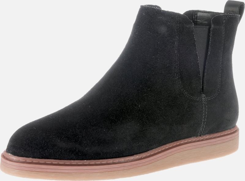 CLARKS Ankle Stiefel 'Dove Madeline Leder Markenrabatt