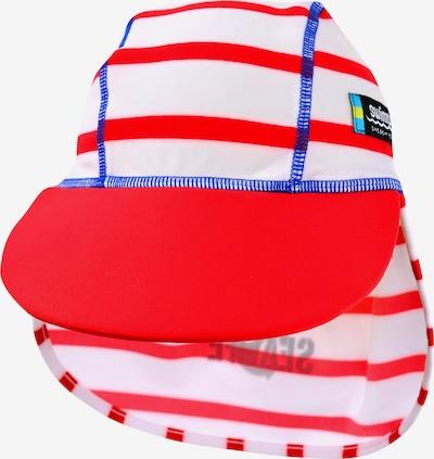 SWIMPY Cap in blau / rot / weiß: Frontalansicht