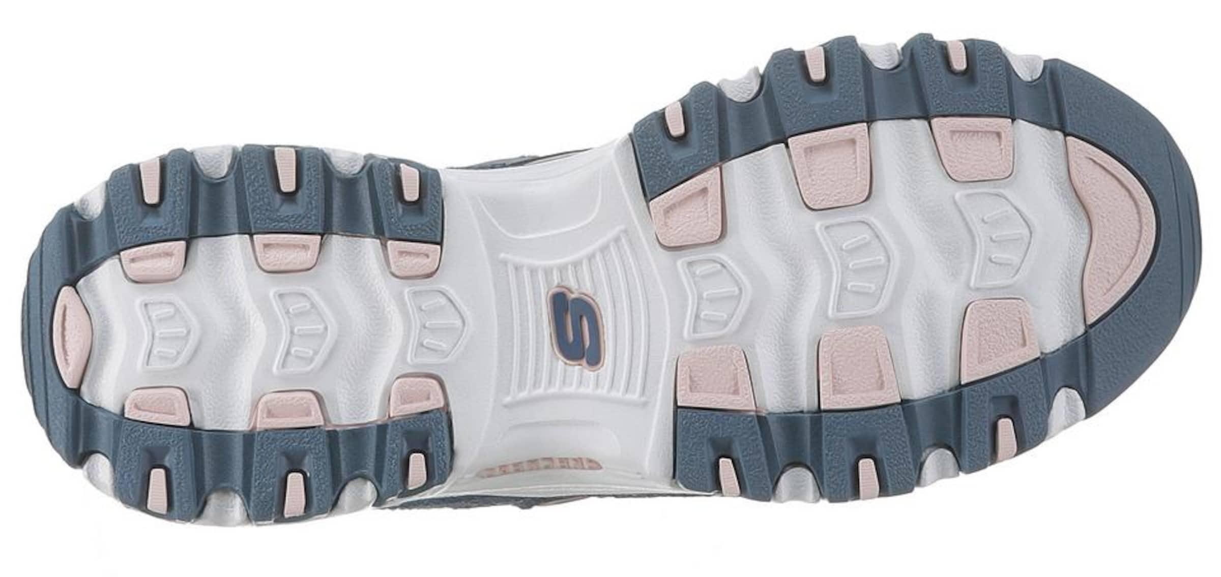 Fan' Weiß Skechers In TaubenblauRosa Sneaker 'd'litisBiggest Nn0v8mw