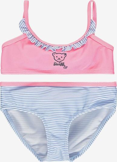 STEIFF Bikini in marine / rauchblau / rosé / weiß, Produktansicht